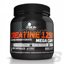 Olimp Creatine 1250 Mega Caps - 400 kaps.