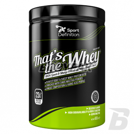 SportDefinition That's the Whey 100% Goat & Sheep Premium Whey Protein Blend - 600g