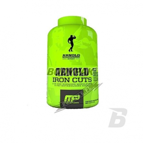 MusclePharm ARNOLD Iron Cuts - 90 kaps.