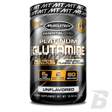 MuscleTech Platinum Micronized Glutamine - 300g