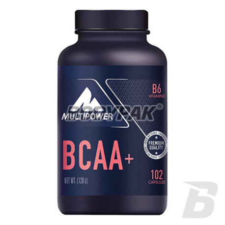 Multipower BCAA+ - 102 kaps.