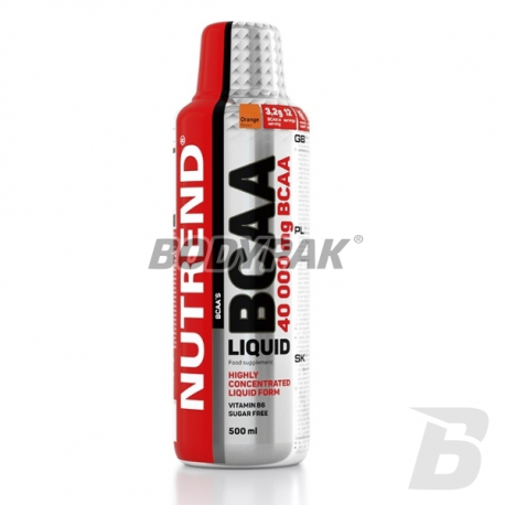 Nutrend BCAA Liquid 80000 - 500ml
