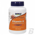 NOW Foods Vitamin A 25.000 IU [From Fish Liver Oil] - 250 kaps.