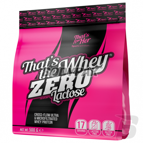 Sport Definition That's The Whey ZERO [THAT'S FOR HER] - 500g