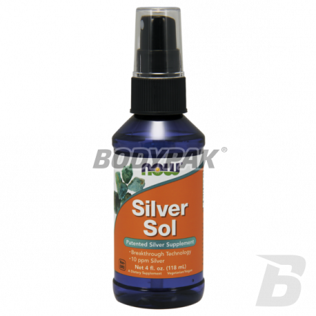 NOW Foods Liquid Silver Sol - 118 ml