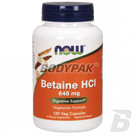NOW Foods Betaine HCL - 120 kaps.