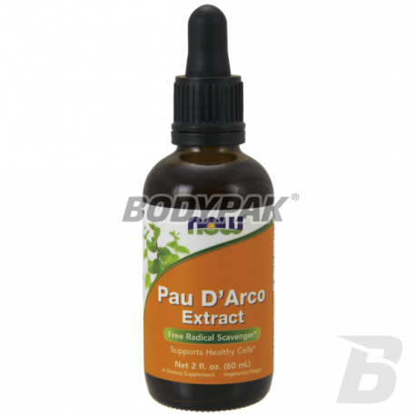 NOW Foods Pau D'Arco Extract Liquid - 60 ml