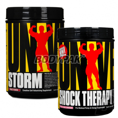 Universal Nutrition Shock Therapy - 840g + Storm - (750 - 836g)