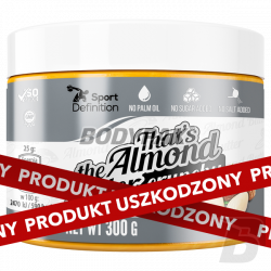 USZKODZONE - Sport Definition That's the Almond Butter Crunchy - 300g
