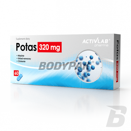 Activlab Pharma Potas 320mg - 60 kaps.