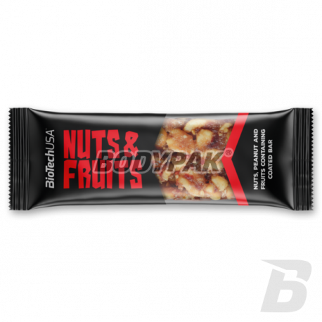 BioTech Nuts and Fruits Bar - 40g