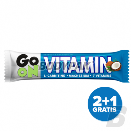 Sante Go On Vitamin Bar - 3 x 50g [2+1 GRATIS]