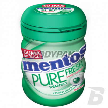 Mentos Pure Fresh Spearmint Bottle Sugarfree - 60g