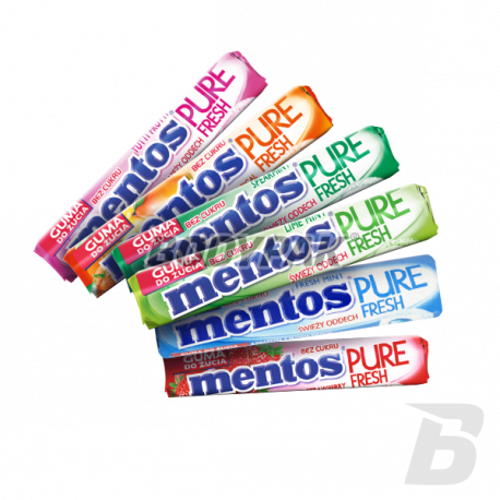 Mentos Pure Fresh Roll Sugarfree [MIX SMAKÓW] - 15g