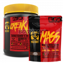 PVL Mutant Creakong - 300g + Mutant Mass - 280g [GRATIS]