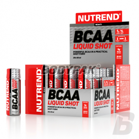 Nutrend BCAA Mega Shot - 20 x 60 ml