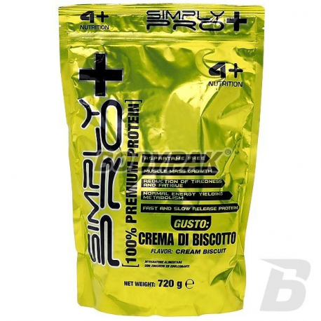 4+ Nutrition Simply Pro+ - 720g