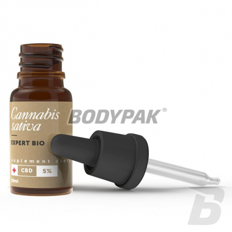 GHM Olejek CBD BIO Cannabis Sativa 5% - 10 ml