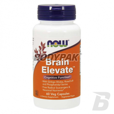 NOW Foods Brain Elevate™ - 60 kaps.