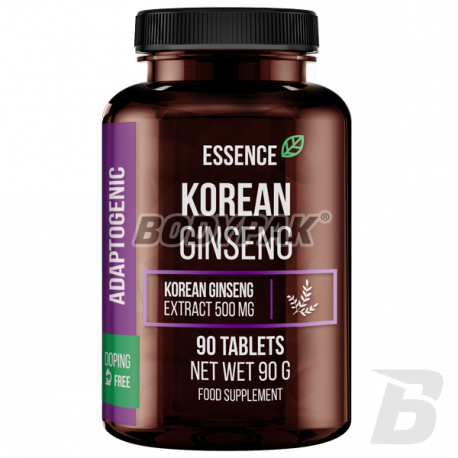 Essence Nutrition Korean Ginseng - 90 tabl.