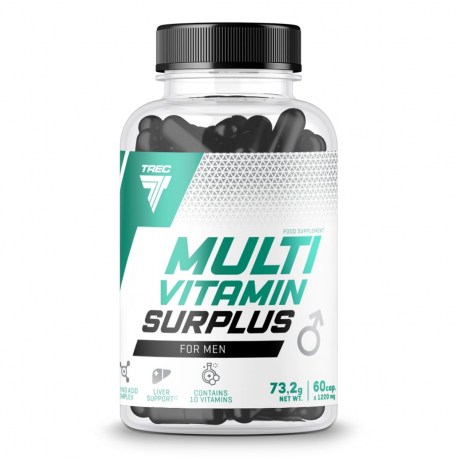Trec Multivitamin Surplus for Men - 60 kaps.