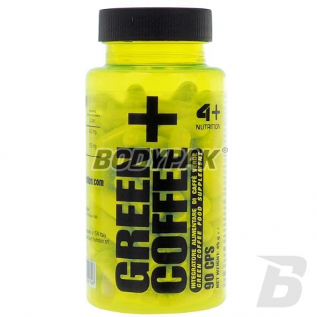 4+ Nutrition Green Coffee+ - 90 kaps.