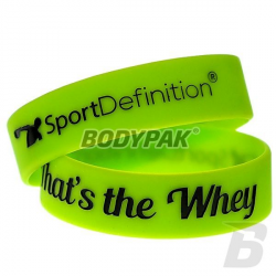 Sport Definition That's The Whey opaska na rękę [GREEN] - 1 szt.