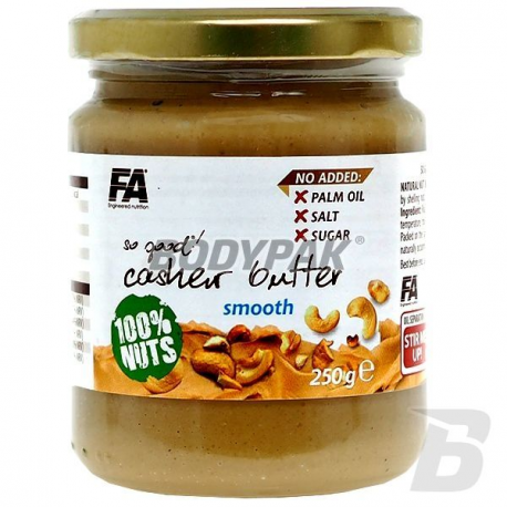 FA Nutrition So Good! Cashew Butter Smooth 100% [Nerkowiec] - 250g
