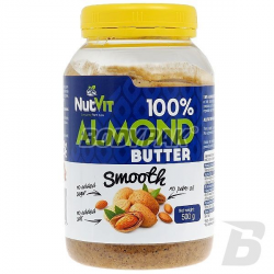 Ostrovit NutVit 100% Almond Butter Smooth - 500g