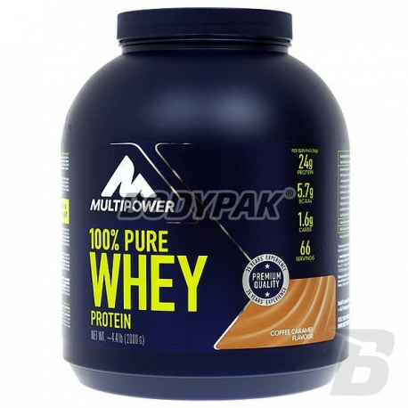 Multipower 100% Pure Whey Protein - 2000g