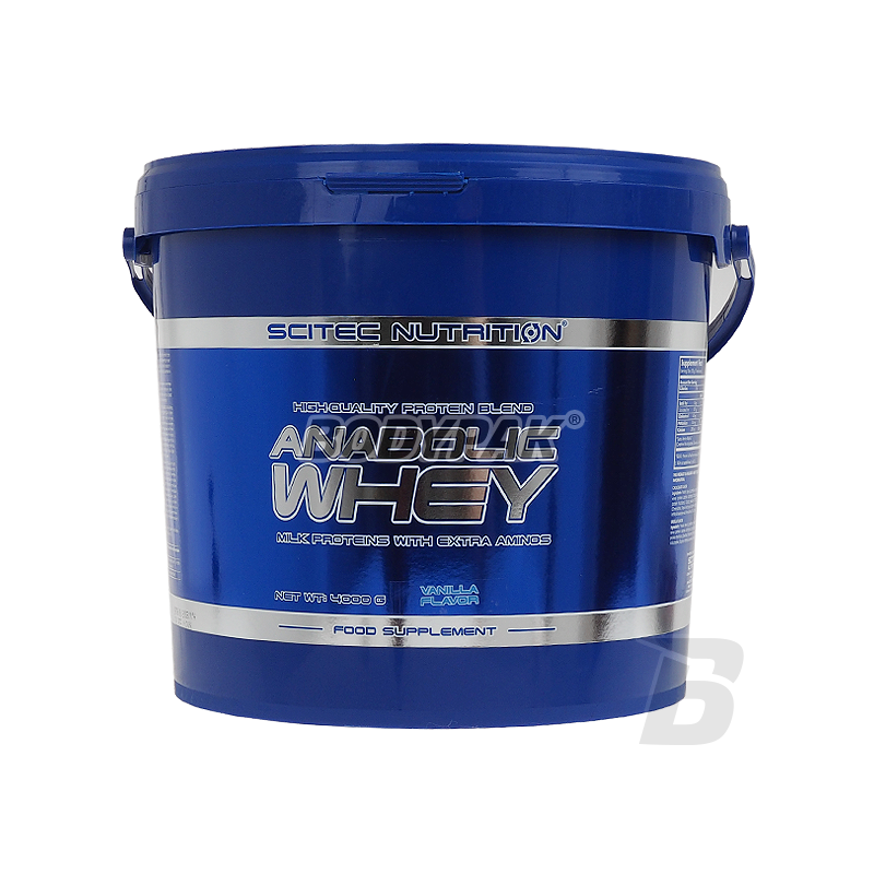 scitec anabolic whey review