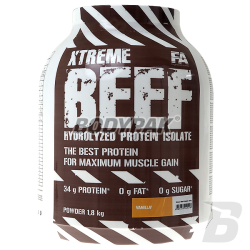 FA Nutrition Xtreme Beef Hydrolysed Protein Isolate - 1800g