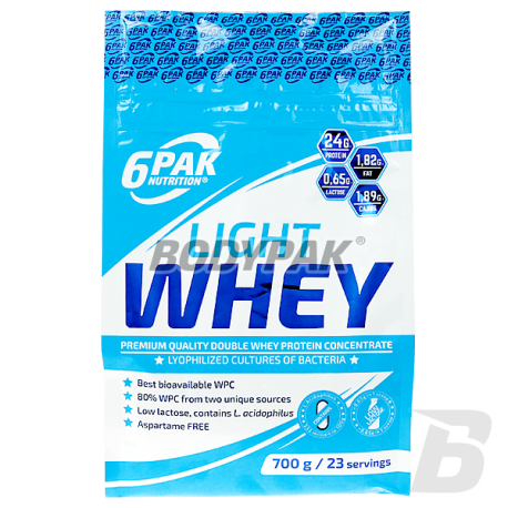 6PAK Nutrition Light Whey 700g