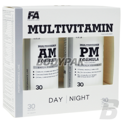 Fitness Authority MultiVitamin AM + PM Formula - 90+90 kaps.