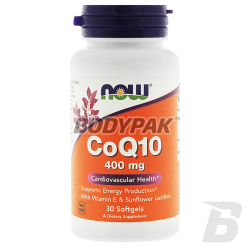 NOW Foods Coenzyme Q10 400mg - 30 kaps.
